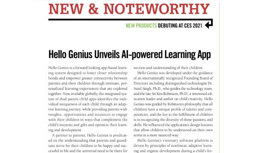 CES Daily Calls Hello Genius Apps a 'Product to Keep an Eye On'